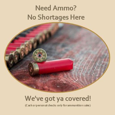 Need Ammunition? No Shortage Here... We've got ya covered!