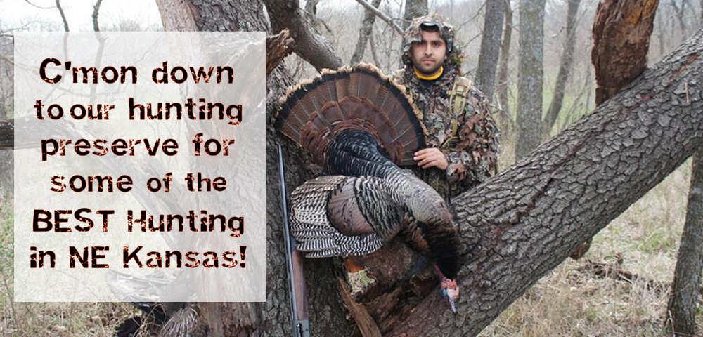 The Best Hunting in NE Kansas